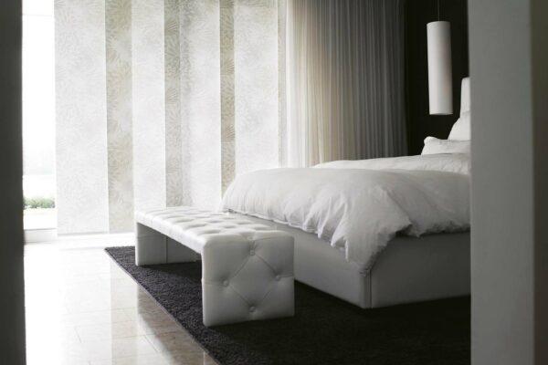 panele-japońskie-aranżacja-sypialni